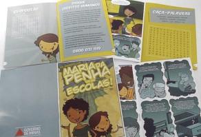 Projeto Maria da Penha vai às Escolas cresce e vai beneficiar mais de 500 mil estudantes em 2014