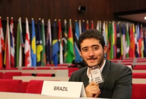 Gabriel Azevedo na 3ª Conferência Mundial de Juventude