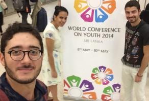 Gabriel Azevedo na Conferência Mundial de Juventude